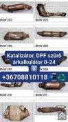 Katalizátor/DPF szűrő!
