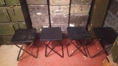 Katonai honvédségi stoki ülőke szék tábori szék
