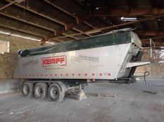 Kempf 3 tengelyes pótkocsi