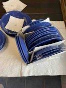 Kerámia tányér készlet étkészlet 28 db