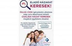 Keresek: Sásd és környékén Falusi Csok-ra alkalmas családi házat keresek