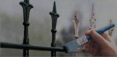 Kerités elemek, kapu, korlát, újrafestése