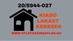 Kiadó lakást keresek Székesfehérváron megbízható ügyfeleim részére