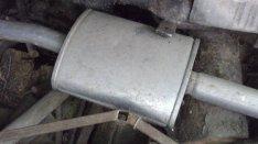 Kipuffogodob benzines jó állapotban