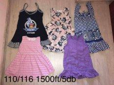 Kislány ruha és szoknya csomagok 116-128