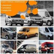 Kisteherautó, kisbusz, furgon alkatrészt a Furgonshoptól