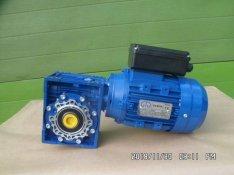 Kolbászhús keverőgéphez, új, 220 V.-os hajtóműves villanymotor