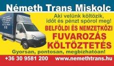 Költöztetés Miskolcon