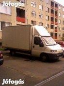 Költöztetés olcsón. 140 Ft/km