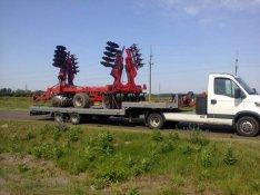 Kombájn, Pótkocsi, Traktor, Túlméret, Gépszállítás!