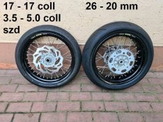 Ktm Exc Lc4 supermoto kerék eladó