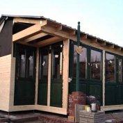 Kültéri szauna, faház, kerti bútor a gyártótól