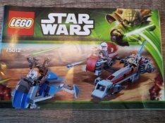 LEGO 75012 - BARC Speeder with Sidecar