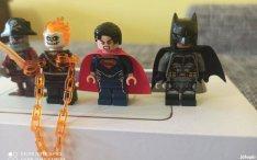 LEGO figura Batman Superman Szellemlovas Zombi kalóz