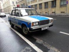 Lada 2107-es Rendőrségi gépjármű bérelhető