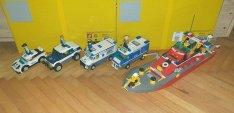Lego City járművek
