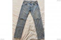 Levis 501 CT W 31 L 32 Gyári Slim Fit Új Eredeti Prémium vintage