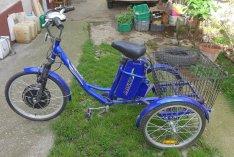 Lofty elektromos tricikli, 3 kerekű kerékpár eladó