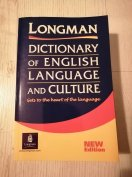 Longman Dictionary of Language and Culture