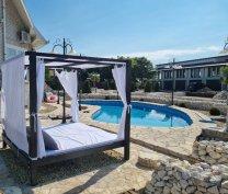 Luxus baldachinos ágy, napozóágy, kerti bútor országszerte a gyártótól