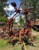 MTZ traktor után való 6 csillagos rendkezelő jó állapotban eladó