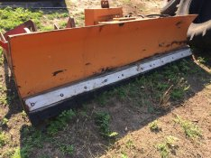 MTZ traktor után való fronthidraulika hótolóval eladó