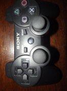 M-128. Ps3 Sony Fekete Vezeték Nélküli Controller Újszerű