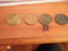 Magyar 2 forintos 4 db