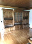 Manó bútor Bibi faragott tölgyfa szekrénysor Országos Házhozszállítás