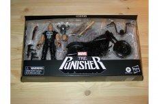 Marvel Legends 15 cm (6 inch) Punisher & Motorcycle jármű és figura