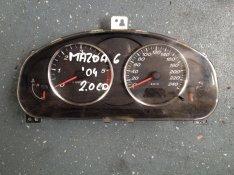 Mazda 6 2.0 CD kilóméter óra , óracsoport