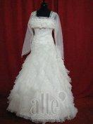 Menyasszonyi ruha, spanyol fazon
