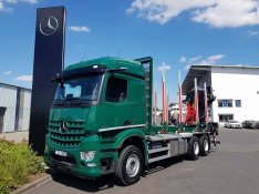 Mercedes-Benz Arocs 2651L 6x4 + Daru: Epsilon M12Z91 Rönkszállító