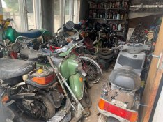 Motorkerékpárok: Veteránok, üzemképes állapotban