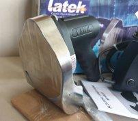 Motoros gyrosvágó gyros kés Latek 120-as legprofibb gyros szelő