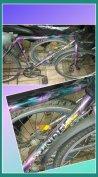 Mountain bike Monti hegyi kerékpár lila bicaj 26 bicikli hegyikerékpár