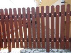Műanyag gondozás mentes kerítés, kerítésléc!