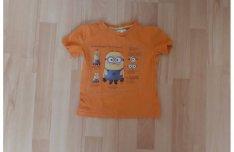 Narancssárga Minyonos póló piciknek, 80-as