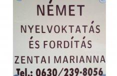 Német tanár nyelvtanítás és fordítás Nyíregyházán skype is