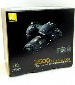 New Nikon D500 DSLR Camera with 16-80mm f/2.8-4 E ED VR Lens