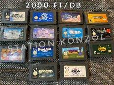 Nintendo GBA játekok