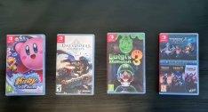 Nintendo Switch játék: Kirby, Darksiders, Luigi Mansion, Trine