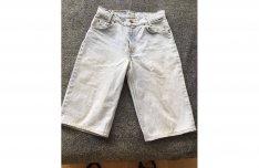 Női lány farmer nadrág sort rövidnadrág 28-sa méret Levis