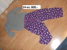 Női pizsama jó állapotban eladó!