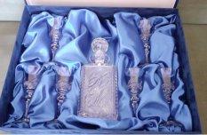 Ólomkristály pohárkészlet díszdobozban új!