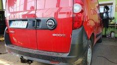 Opel Combo vonóhorog
