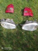 Opel Corsa b első es hatsó lampak.