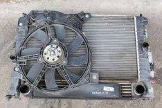 Opel Meriva A 1.3D Vízhűtő ventilátor kerettel