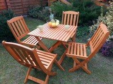 Összecsukható kerti bútor garnitúra,teraszbútor