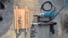 Oszlopos fúrógép fúrógép göcstipli fatipli fúrógép
